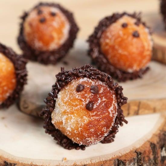 Hedgehog Doughnut Holes