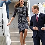 Prince William and Kate Middleton Arrive in Canada