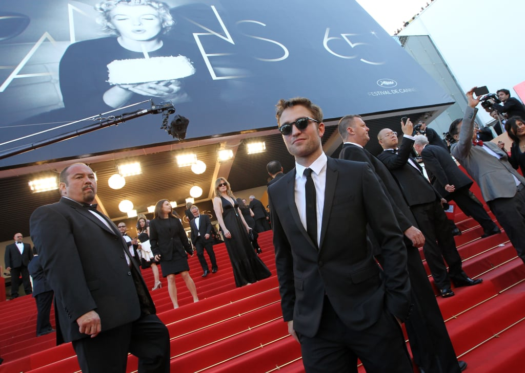 Robert Pattinson took to the stairs at the On the Road premiere at the Cannes Film Festival.