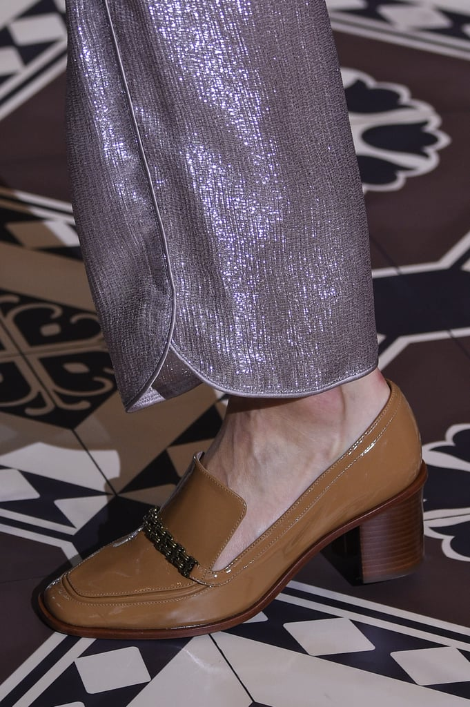 And This Heeled Pair Made Its Way Down the Tory Burch Catwalk