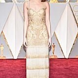 Emma Stone at the 2017 Academy Awards