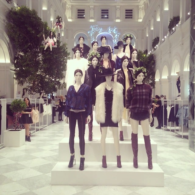 The first glimpse inside Australia's first-ever H&M store! It looks pretty incredible, no?