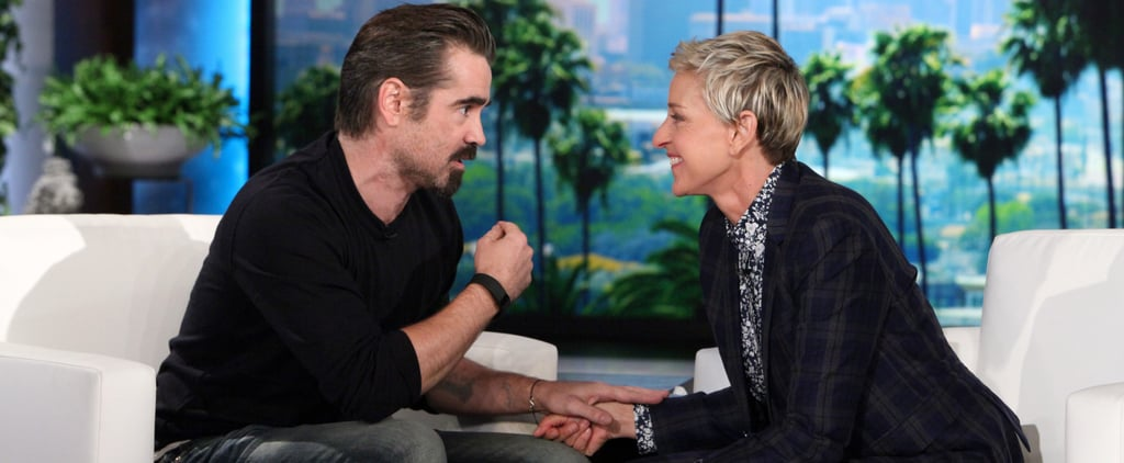 "Colin Farrell's Son Hates Donald Trump Because He Won't Stop ""Grabbing the Kittens"""
