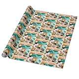 Harry Potter Cartoon Wrapping Paper