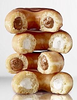 Krispy Kreme's Glazed Doughnuts Just Got a Sweet Upgrade With — Wait For It — Cream Filling