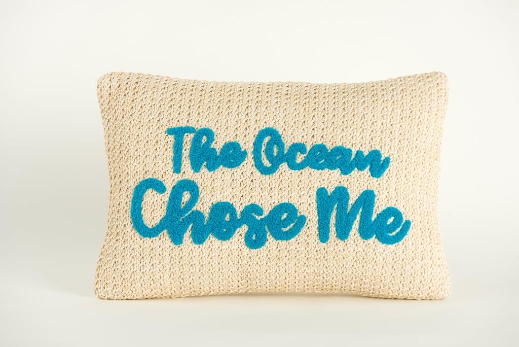 Disney Princess X POPSUGAR Moana The Ocean Chose Me Decor Pillow