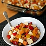 Roasted Tofu, Sweet Potato, and Pepper Sheet-Pan Meal