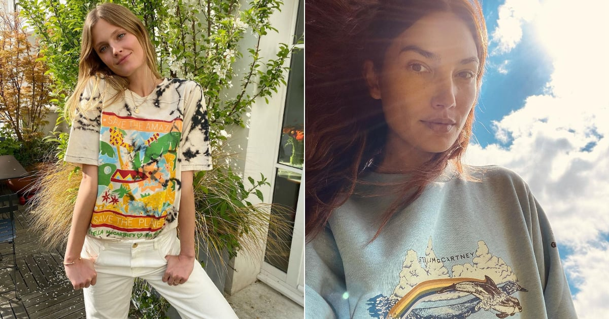 Stella McCartney Launches a Greenpeace Collection of Tees and Sweatshirts to Help Save Our Planet