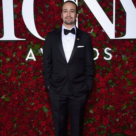 Lin-Manuel Miranda at the Tony Awards 2016