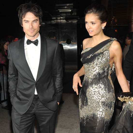 Nina Dobrev and Ian Somerhalder at Met Gala Pictures