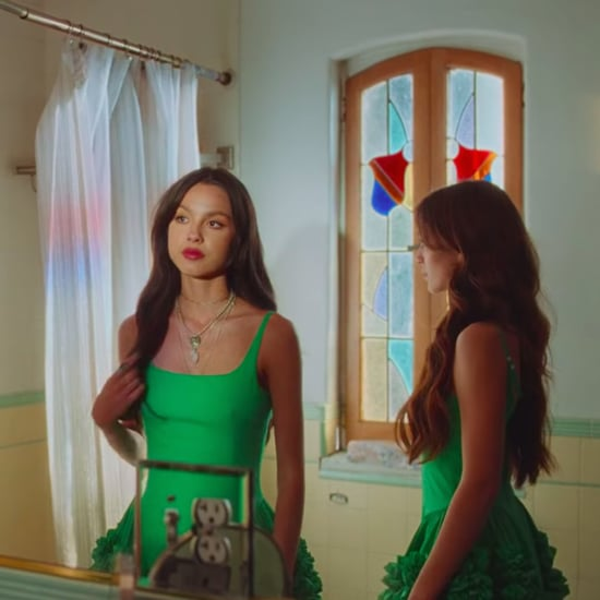 "Shop Olivia Rodrigo's Green Dress in the ""Deja Vu"" Video"