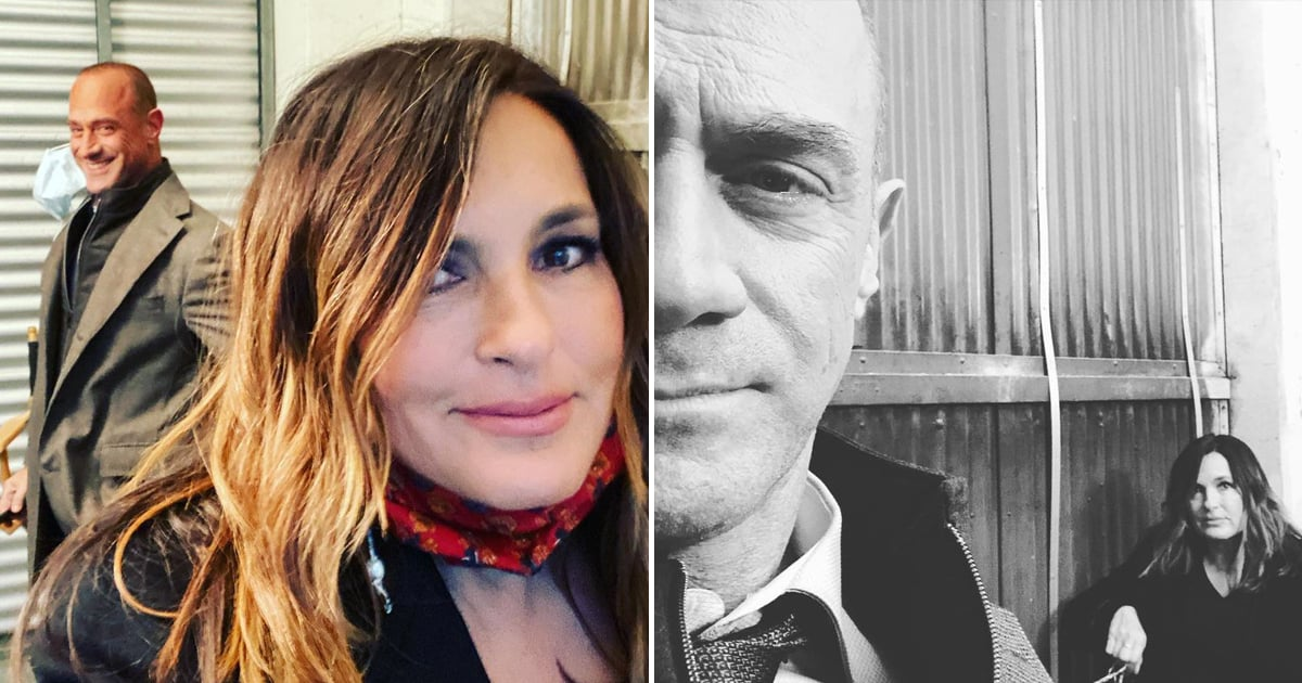 Christopher Meloni and Mariska Hargitay Are Back to Business in These New SVU Set Selfies.jpg