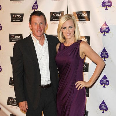 Lance Armstrong and Jenny McCarthy Ante Up for Autism