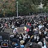 Pictures From the Australian Black Lives Matter Protests