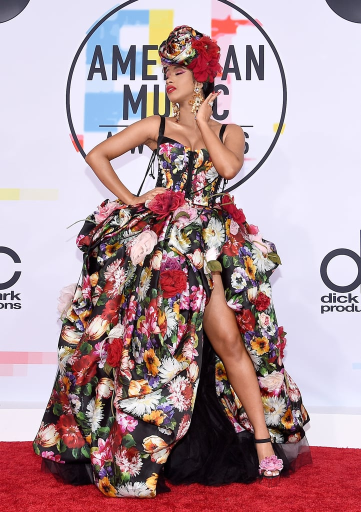 Cardi B's Dress at the American Music Awards 2018