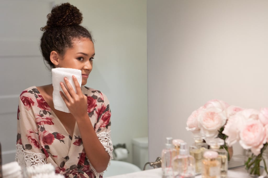 March 19, Day 7: Cleanse your face using a muslin cloth