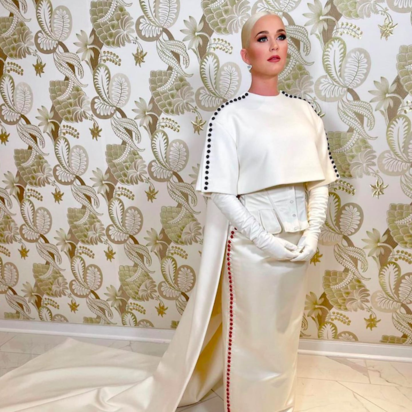 See What Katy Perry Wore to Perform at Biden's Inauguration | POPSUGAR Fashion