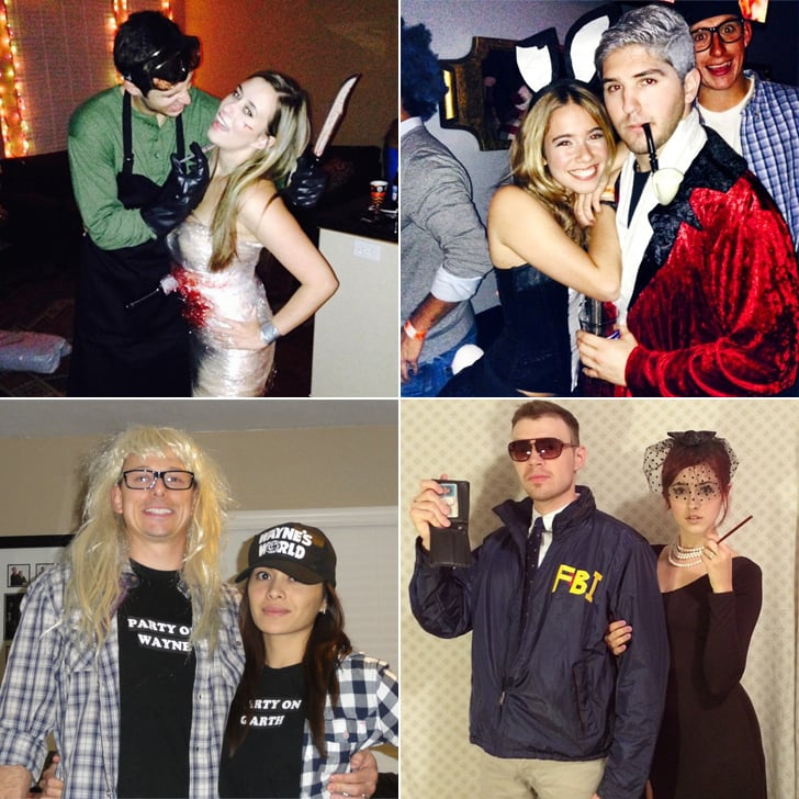 homemade halloween couples costumes