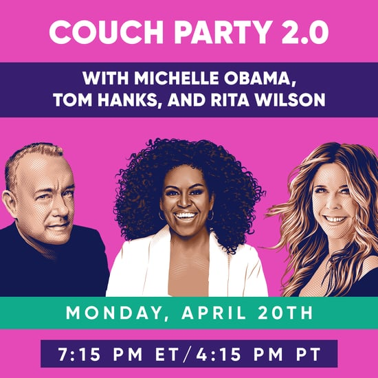Michelle Obama #CouchParty With Tom Hanks and Rita Wilson
