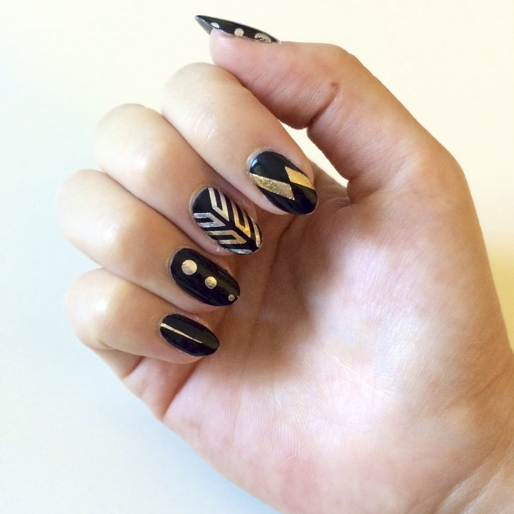 Use Your Leftover Flash Tattoos For This Easy Nail Art!