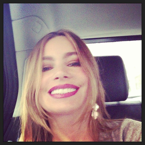 Sofia Vergara Shared A Selfie After Getting A Facial Celebrity Twitter And Instagram Pictures Week Apr 26 2013 Popsugar Celebrity Australia Photo 50