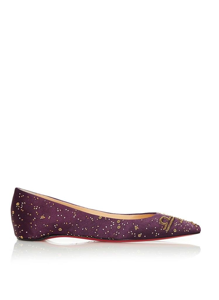 Christian Louboutin The Libra Ballerina Flat ($2,000)