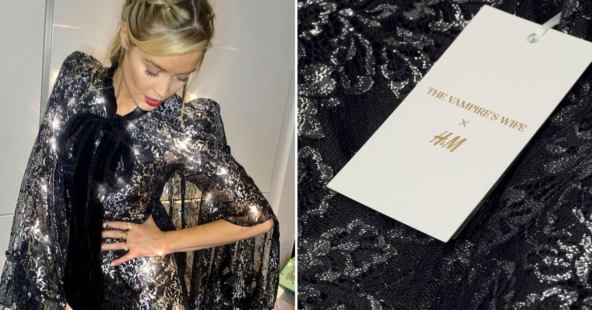 Laura Whitmore Looks Absolutely Magical In The Vampire's Wife and H&M Collection