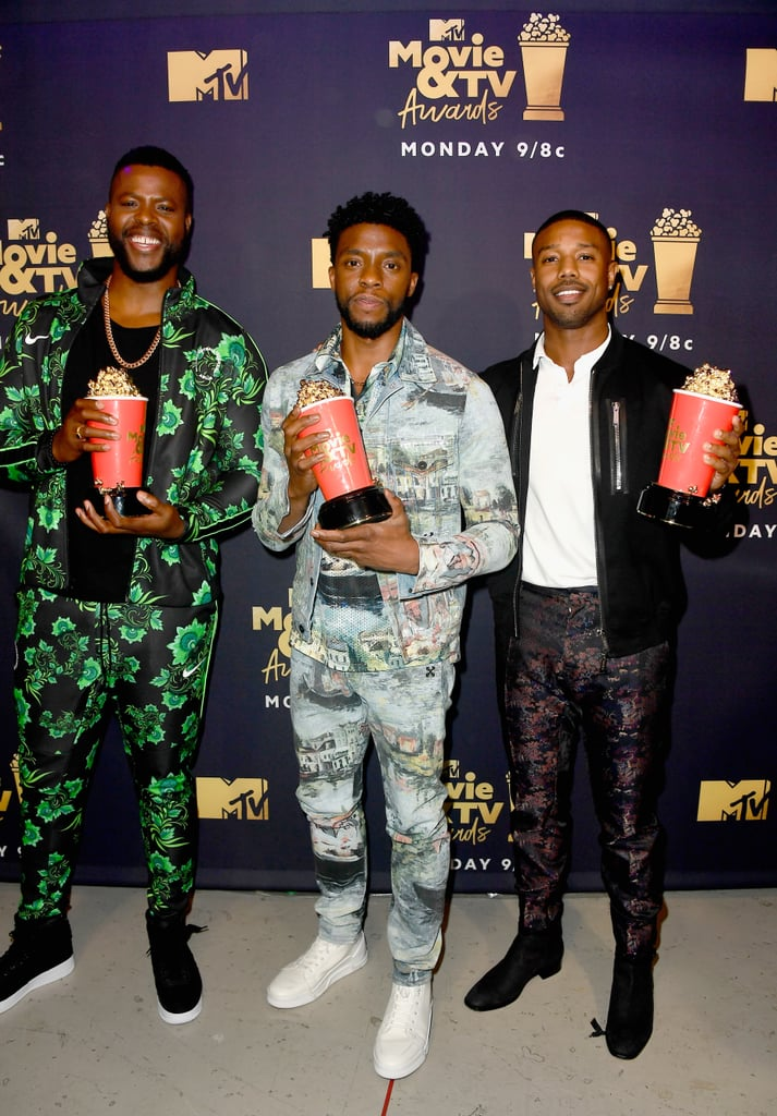 Black Panther Cast at the MTV Movie and TV Awards 2018 ...