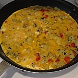 Bell Pepper and Cheddar Frittata