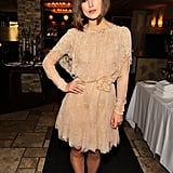 Keira Knightley at a Toronto party.