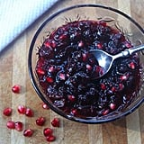 Don't just reserve this cranberry pomegranate sauce for dressing on the Thanksgiving table. Make the recipe now to use on toast, pancakes, or to mix with yogurt and oatmeal.