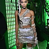 Chanel Iman as a Mummy
