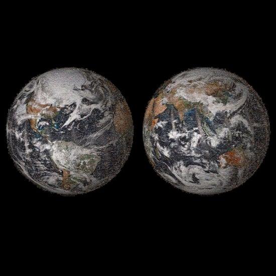 NASA Global Selfie Mosaic