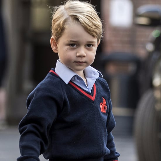 Prince George Playing a Sheep in School Nativity Play