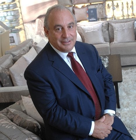 CNN Reveals What Motivates Arcadia Boss Sir Philip Green