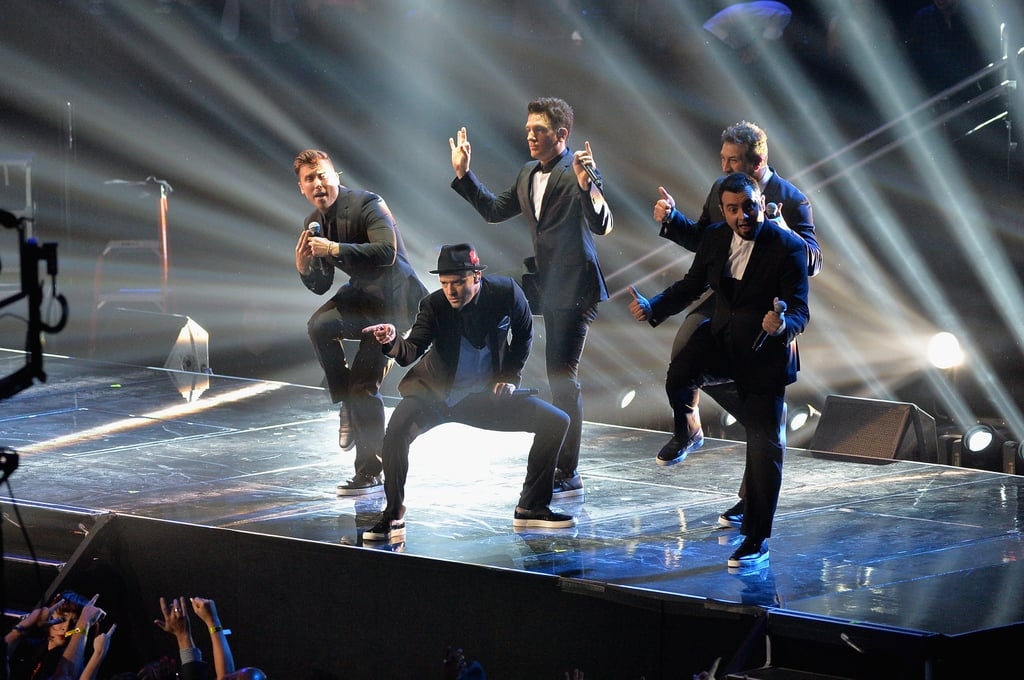 *NSYNC Takes Over the VMA Stage Like It's 1999