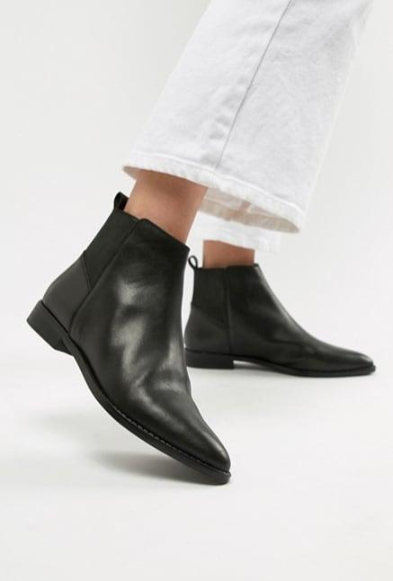 ce2094517dba78 ASOS DESIGN Atom Leather Chelsea Boots ( 84)