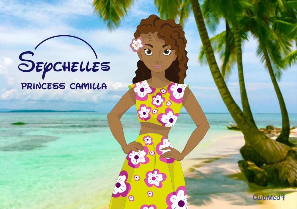 Camilla, Princess of the Seychelles