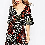 ASOS Collection Belted Skater Dress in Star Print ($63)