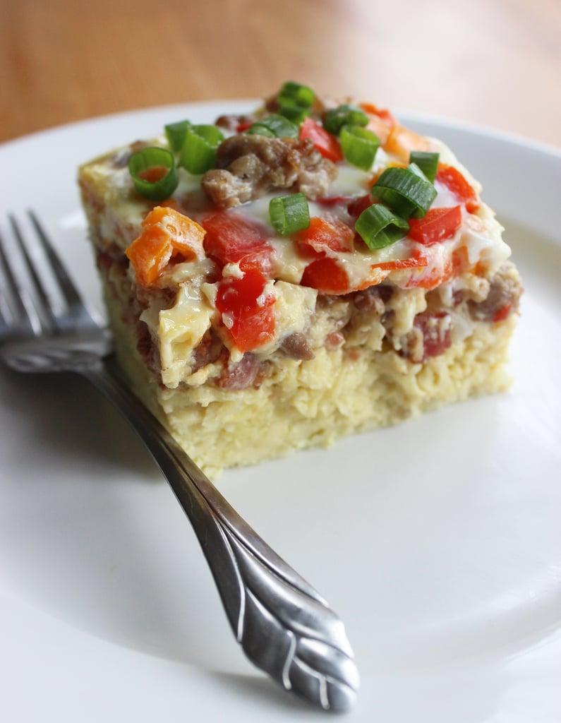Healthy overnight breakfast casserole popsugar fitness forumfinder Image collections