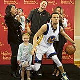 It's Hard to Tell Who's Having the Most Fun With Steph Curry's Wax Figure