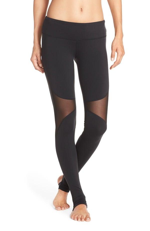 81265e9f9e3ff Alo Yoga Coast Mesh Inset Stirrup Leggings | Mesh Workout Pants ...