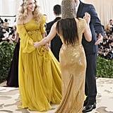 Amanda Seyfried and Thomas Sadoski at the 2018 Met Gala