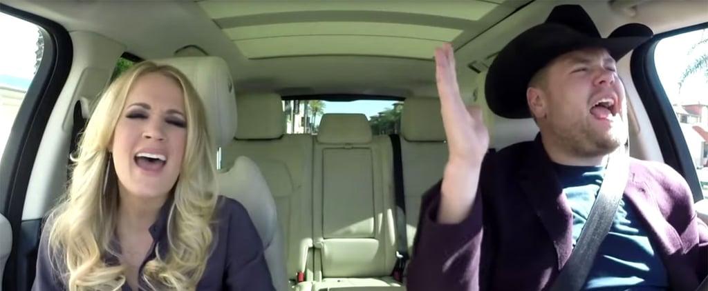 Carrie Underwood and James Corden Carpool Karaoke