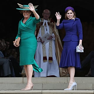 Royal Family at Princess Eugenie's Wedding