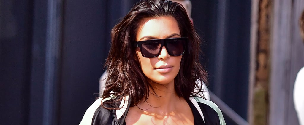 "NSFW: Turns Out Kim Kardashian Might Be a ""Free-the-Nipple Type of Girl"" After All"