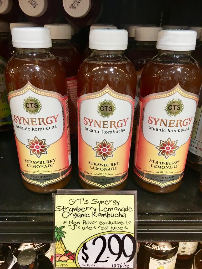 GT's Kombucha Strawberry Lemonade at Trader Joe's