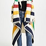 Monse Hudson's Bay Blanket Coat