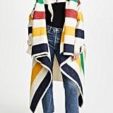 Monse Hudson's Bay Blanket Coat