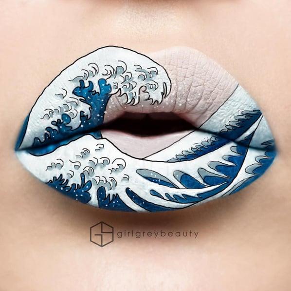Lip Art by Girl Grey Beauty